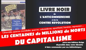 Livre noir de l'anticommunisme et de la contre révolution : le livre noir du capitalisme !