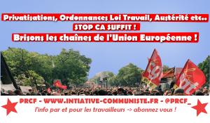 Tous mobilisés, le 19 octobre grèves et manifestations  : stop #ordonnances #loitravailXXL