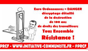 Les euro ordonnances détruisent le code du travail : décryptage détaillé par un inspecteur du travail.
