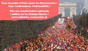 Pour une manifestation à Paris contre les Macronneries : le front social appelle à une manif nationale le 18 novembre sur les Champs Elysées