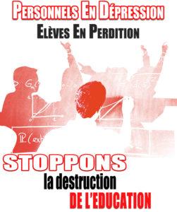 Blanquer tue l'Éducation nationale, et ses agents en paient le prix !