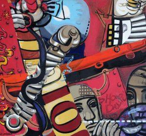 Kenneth Larson : une retrospective à Grenay