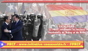 Non à la répression euro-franquiste … Liberté pour les élus catalans ! – communiqué du PRCF
