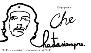 Élégie pour le Che – Francis Combes