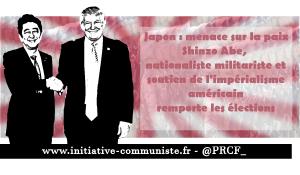 Élections au Japon, résistance populaire au revanchisme belliciste de Shinzo Abe