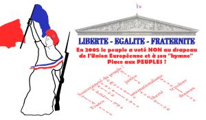 """Pétition : NON au drapeau de l'Union Européenne et à son """"hymne"""". Place aux PEUPLES !"""