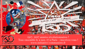 #4Nov #Révolution100 ans Rassemblement pour les 100 ans de la révolution d'Octobre #Dossierspécial