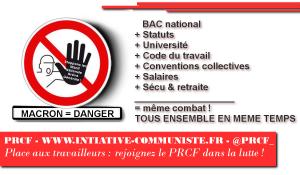 Vote des #ordonnances #loitravail : s'unir et s'organiser pour contre-attaquer : l'appel de la jeunesse.