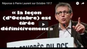 Réponse à Pierre Laurent sur la Révolution d'Octobre – Aymeric Monville #vidéo