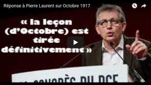 Réponse à Pierre Laurent sur la Révolution d'Octobre – Aymeric Monville #vidéo