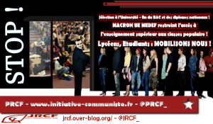Sélection à l'Université, réforme du Bac : Macron attaque les lycéens, les étudiants et les travailleurs !