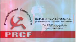 La révolution d'Octobre par Annie Lacroix-Riz #vidéo