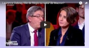 Laurence Debray, Fille de Régis ou soeur de Macron