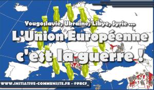 L'Union Européenne c'est la guerre : le bombardement de la Yougoslavie !