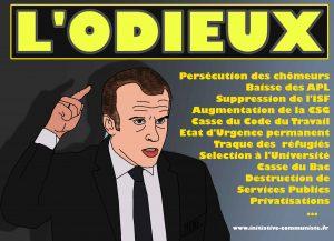 Odieux personnage – par Georges Gastaud | #Macron