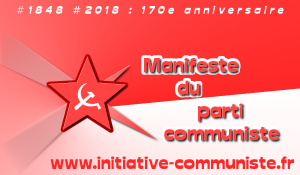 Le Manifeste du Parti Communiste – vidéo/audio