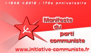 Plus que jamais, LE PARTI COMMUNISTE, MANIFESTEMENT!