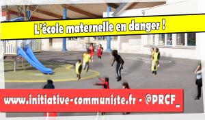L'école maternelle en danger !