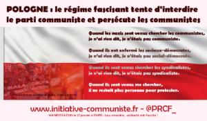 Soyons solidaires des communistes polonais persécutés par le régime ! dossier spécial #kpp