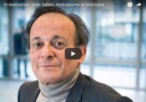 In memoriam Jean Salem. Humanisme et léninisme – par Aymeric Monville