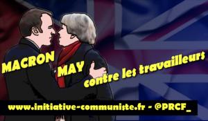 Macron & May unis contre les travailleurs