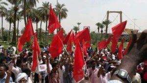 Solidarité avec le parti communiste soudanais