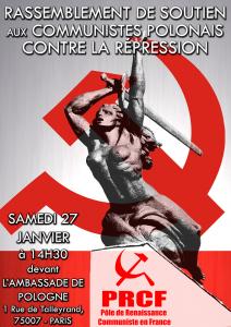 Quelque chose de nauséabond vient de Pologne… Manif le 27 janvier à Paris !
