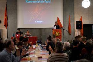 Les JRCF aux cotés des communistes danois à Copenhague [5e congrès du KPD]