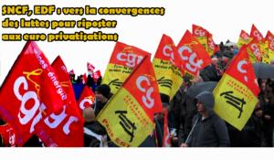 Énergie, transport : la CGT appelle au tous ensemble contre l'euro-privatisation des services publics