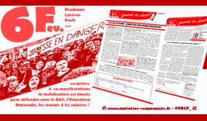 6/02 : les profs, élèves, étudiants et parents d'élèves mobilisés contre la casse de l'Éducation Nationale #cassepasmonbac #NonALaSelection