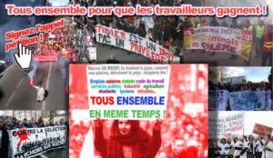 Signez l'appel:  À L'ACTION TOUS ENSEMBLE et EN MÊME TEMPS ! #convergencedesluttes