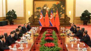 Première rencontre au sommet entre Kim Jong-un et Xi Jinping !