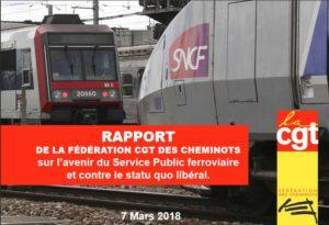 Réforme de la SNCF : les propositions de la CGT pour développer le train pour tous et refuser l'euro privatisation du rail !