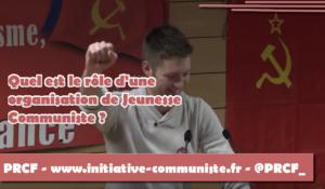 Quel est le rôle des Jeunesses Communistes ? rejoignez les JRCF !