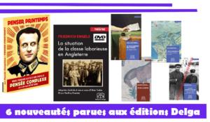 #livres : Six nouveautés parues aux Éditions Delga …