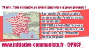 Macron casse la France : les travailleurs répondent résistance #manif19avr #Jesoutienslagrèvedescheminots