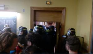 Récit de l'occupation de la Sorbonne avec les militants des JRCF