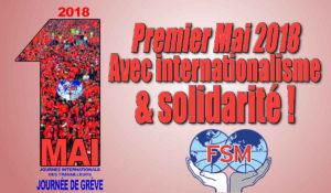 La Fédération Syndicale Mondiale appelle à la solidarité et l'internationalisme #1ermai #FSM #WFTU