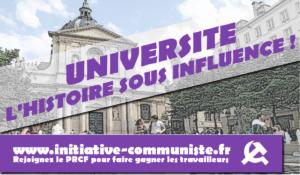 L'Histoire sous influence à l'école et à l'Université