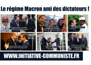 Egypte, Le Drian le déshonneur. Le régime Macron ami des dictateurs !