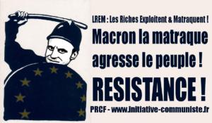 Le régime Macron prépare la rentrée sociale en achetant des milliers de grenades !