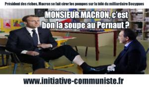 MONSIEUR MACRON, c'est bon la soupe au Pernaut ?