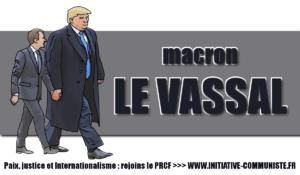 Macron vassal de Trump !