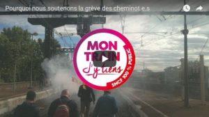 Vidéo : Mon train j'y tiens : parole d'usagers #jesoutienslagrèvedescheminots