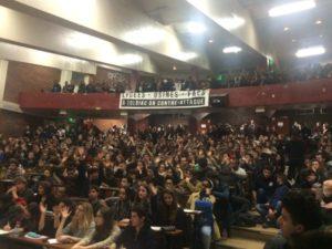 Les étudiants de Tolbiac toujours contre la loi ORE #NonALaSelection #JRCF