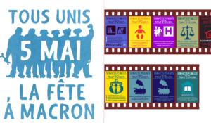 5 mai la fête à Macron – Tous Ensemble, En même temps ! #5mai #FeteAMacron #infospratiques