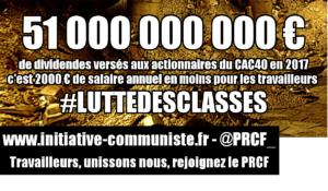 Toujours plus pour les riches : le régime Macron champion du monde des dividendes pour les actionnaires