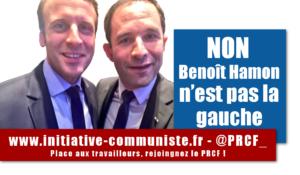 NON, Benoît Hamon n'est pas la gauche ! Par Fadi Kassem, membre du secrétariat politique national du PRCF