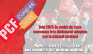 38e CONGRÈS DU PCF-PGE. : entre maintien de la direction faillie et tentation de la révolution de palais ?