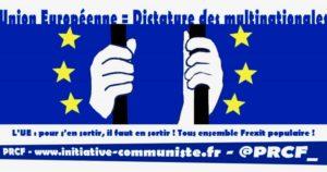 Elections européennes 2019 : motion du Comité Central du Pôle de Renaissance Communiste en France (P.R.C.F.)